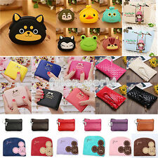 Womens Girls Animal Purse Mini Wallet Clutch Card Holder Small Coin Monry Pocket