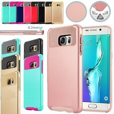 Hybrid Rugged Rubber Hard Shockproof Case Cover for Samsung Galaxy S4 S5 S6 S7