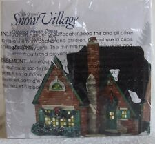 "Dept. 56 - Snow Village, Catalog House Series  ""STRATFORD""  NIB # 4036566   Ret"