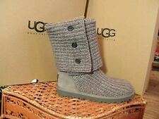Kid's UGG Australia Classic Cardy Boots, Gray