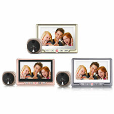 TS-506A 4.3 Inch HD LCD Screen Home Security Digtial Peephole Camera Doorbell BE