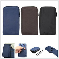 """6.4"""" Multi-functional Zip Casual Belt Clip Climbing Sports Bag Phone Pouch Case"""