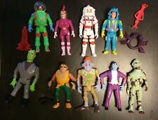The Real Ghostbusters Super Fright Feature and Monsters Lot