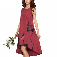 Women Vintage Long Dress Ladies Casual Maxi Robe Longue Femme Dress
