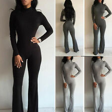 Womens Sports YOGA Gym Fitness Leggings Pants Jumpsuit Bodysuit Romper PLUS SIZE