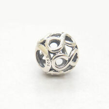 Authentic Genuine S925 Sterling Silver Infinite Shine Charm bead