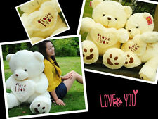 Giant Big Stuffed Plush love heart  Teddy Bear plush soft toys doll Bithday Gift