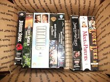 Action Adventure VHS Movies Lot of 8