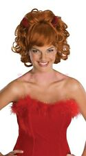 Ladies Fancy Dress Costume Wig - Sultry Devil Wig with Horns (0172)