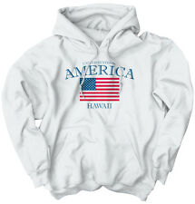 Hawaii State Patriotic Gift Ideas American USA T Shirt Flag Hoodie Sweatshirt
