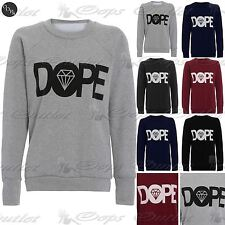 Womens Ladies Sweatshirt Cocaine And Caviar Printed Jumper Pullover T Shirt Top
