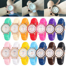 Geneva Women Silicone Jelly Watches Unisex Cute Quartz Analog Watch Watch