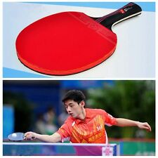 Handle Training Ping Pong Paddle Carbon Fiber With Bag Table Tennis Racket Bat
