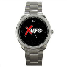 NEW Wrist Watch Stainless Unisex UFO Metal Rock Classic Band