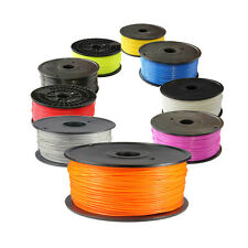 3D Printer Filament 1.75/3mm ABS/PLA Reprap Prusa MarkerBot Delta - 1kg/roll
