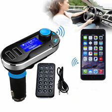 Dual USB Car Kit Charger Wireless Bluetooth Stereo MP3 Player FM Transmitter HTC