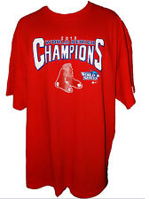 BOSTON RED SOX 2013 World Series Champions ADULT -SHIRT RED