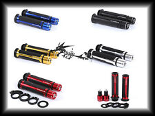 7/8'' CNC Motorcycle Handle Bar Caps+Grips For Honda RC 51/RVT 1000 SP-1
