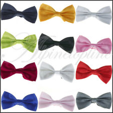 12pcs Mens Solid Colors Tuxedo Wedding Suit Bow Tie Bowtie