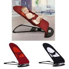 Baby Balance Soft Bouncer Rocker Red/Black Vibrating Chairs