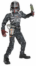 Operation Rapid Recon Child Boys Muscle Costume Jumpsuit Halloween Disguise