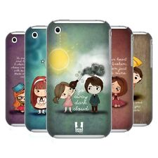 HEAD CASE DESIGNS CUTE EMO LOVE HARD BACK CASE FOR APPLE iPHONE 3G / 3GS