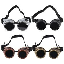 New Cyber Goggles Steampunk Glasses Vintage Welding Punk Gothic Victorian