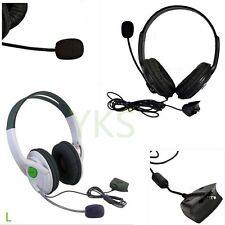 Live Big Headset Headphone With Microphone for XBOX 360 Xbox360 Slim NEW BE