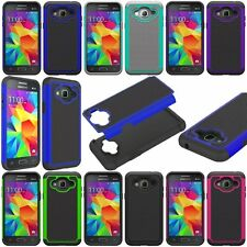 Slim Hybrid Armor Protective Phone Cover Skin Combo Case for Samsung Galaxy Sky