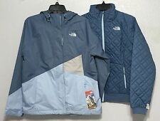 The North Face Women Quilted Penny Triclimate 3in1 HyVent Jacket Snow Ski M L XL