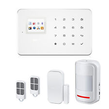 iOS Android APP Wireless GSM and PSTN SMS Home House Alarm System Security