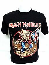 Iron Maiden Rock Band Heavy metal T-Shirt Black Men's Short Sleeve  Size M-L