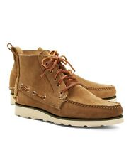 RANCOURT & CO for BROOKS BROTHERS Men's Suede Boat Boots - Made in USA