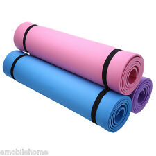 Yoga Mat Exercise Pad 6MM Thick Non-slip Gym Fitness Pilates Supplies