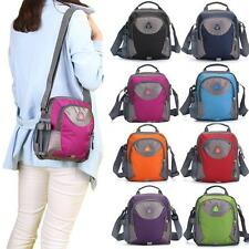 Womens Mens Nylon Shoulder Bags Satchels Messenger Crossbody Handbags New S9S4