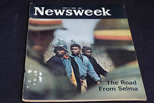 Newsweek, April 5, 1965, The Road From Selma, Gemini