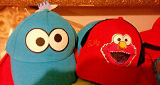Sesame Street ELMO OR COOKIE MONSTER  Back Baseball Cap Coppertone UV Headwear
