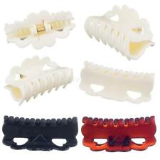 12pcs Fashion Lady Women Girl Plastic Solid Hair Clip Claw Hair Accessories