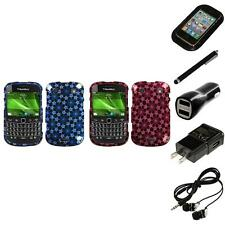 For BlackBerry Bold Touch 9900 9330 Design Snap-On Hard Case Cover Headphones