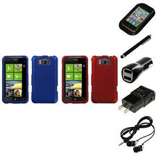 For HTC Titan X310a Snap-On Hard Case Phone Skin Cover Accessory Headphones