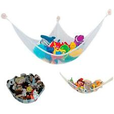 Kids Toy Corner Hammock Net Stuffed Jumbo Animals Organize Storage Organizer Q