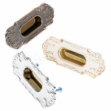 Recessed Doors Sliding Knobs Alloy Fashion Cabinet Furniture Hidden Handles Pull