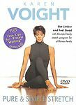 KAREN VOIGHT PURE AND SIMPLE STRETCH EXERCISE DVD NEW SEALED STRETCHING     #21