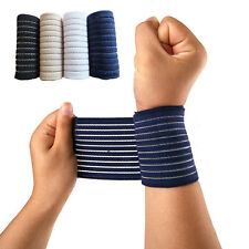 Elastic Breathable Sports Wristband Wrist Support Brace Tapes Bandage Protector