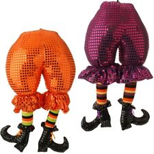 "20"" Witch Butt Feet Legs Halloween Decor Raz Imports Decoration Whimsical"