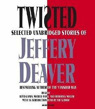 TWISTED BY JEFFERY DEAVER - AUDIO BOOK - FREE SHIPPING