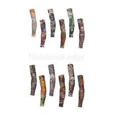 lot 6 Style Slip On Tattoo Sleeves Cover Fake Tribal Temporary Arm Stocking Punk
