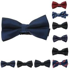 Mens Stylish Bow Tie Necktie Bow Pre Tied Hook for Wedding Party Formal Prom