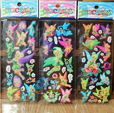 3D Puffy Tinker bell Stickers Kids Scrapbooking&Paper kids Crafts stickers gift
