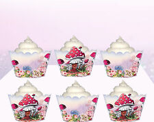 Vintage Fairies Fairy Birthday Party Wraps Cupcake Cases Cake Wrappers Cup Cake